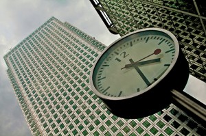 clock in london
